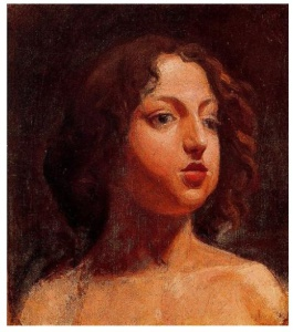 Cabeza de niña (1896). Picasso tiene 15 años.