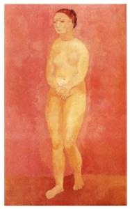 Mujer desnuda (1906)
