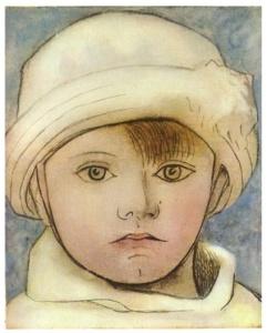 Retrato de Paulo, hijo del artista (Picasso 1923)