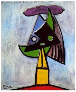 Cabeza de mujer -Olga Picasso (Picasso 1935)