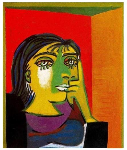 Retrato de Dora Maar (Picasso 1937)