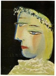 Marie-Thérèse es dulce (Picasso 1937)