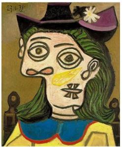 Dora Maar (Picasso 1939)