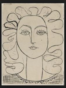 Françoise, la mujer-flor (Picasso 1943)