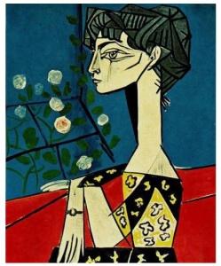 Jacqueline (Picasso 1954)