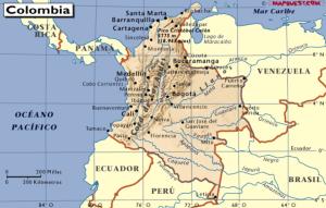 En las costa de Colombia, en las islas del Rosario, cerca de Cartagena de Indias, se ha encontrado el tesoro