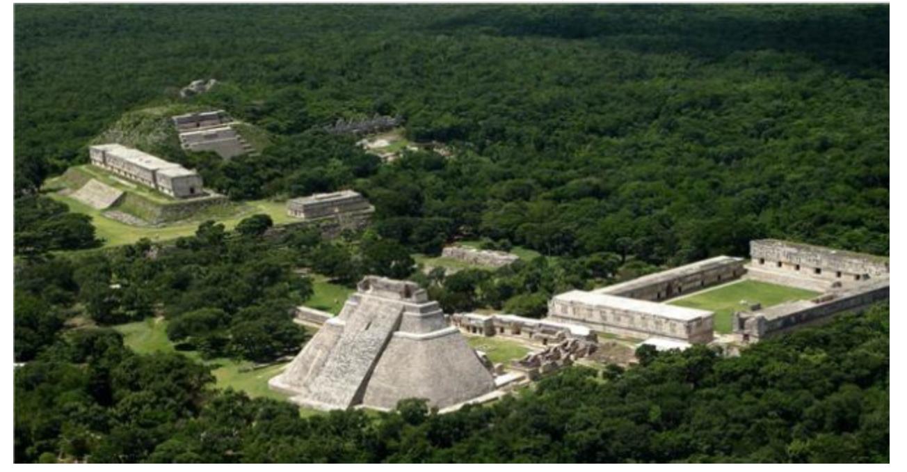 Ejemplos de arquitectura maya