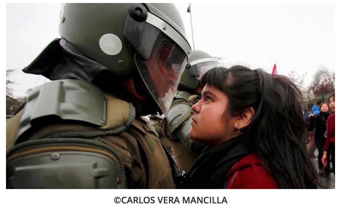 Esta imagen viral sucede en Chile, septiembre 2016